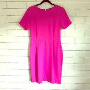 Top Shop Pink Shift Dress